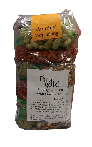 PITA GOLD VOEDER MIX LARGE