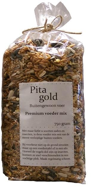 PITA GOLD PREMIUM VOEDER MIX 750 GRAM