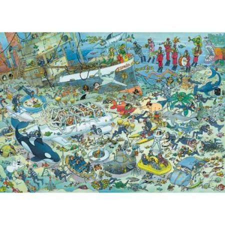 Puzzel Jan van Haasteren Pret onder water 1000 stukjes (online uitverkocht)