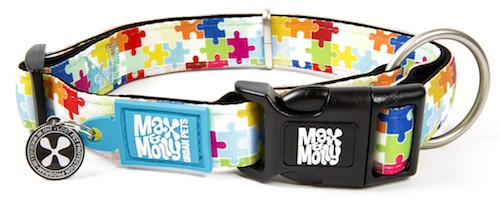 Max & Molly Puzzle Smart ID Collar