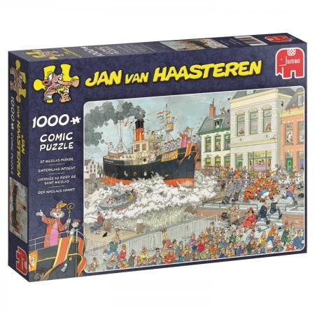 Puzzel Jan van Haasteren Sinterklaas intocht 1000 stukjes (online uitverkocht)