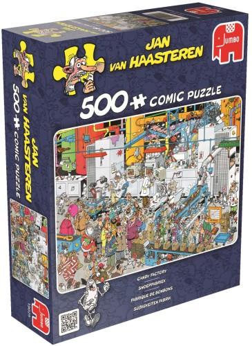 Puzzel Jan van Haasteren Snoepfabriek 500 stukjes (online uitverkocht)