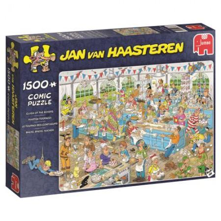 Puzzel Jan van Haasteren Taarten toernooi 1500 stukjes (online uitverkocht)