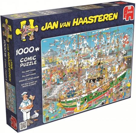 Puzzel Jan van Haasteren Tall ship chaos 1000 stukjes (online uitverkocht)