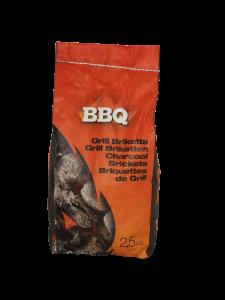 THM BBQ houtskoolbriketten 2,5kg