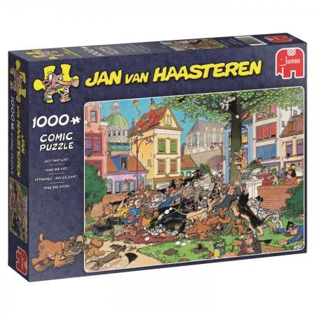 Puzzel Jan van Haasteren Vang die kat 1000 stukjes (online uitverkocht)