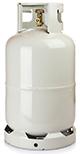 Vulling gas fles grijs 10,5kg (AFHALEN)
