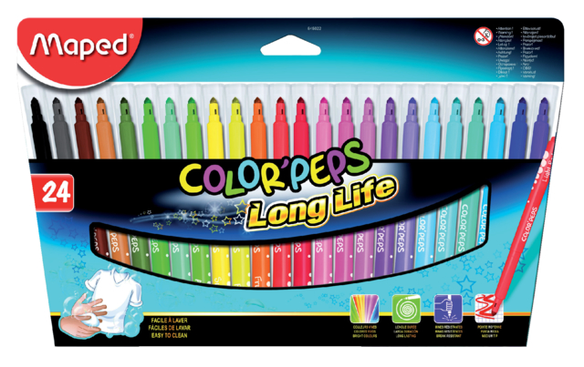 Maped colorpeps long life stiften