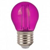 V-TAC 7410 G45 BOL E27 2 LED ROZE