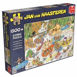 Puzzel Jan van Haasteren Wild water raften 1500 stukjes (online uitverkocht)