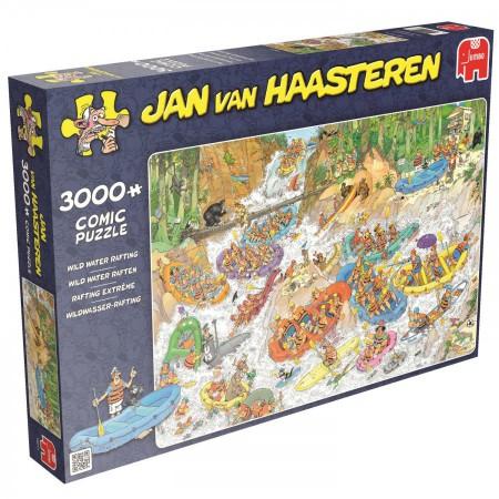 Puzzel Jan van Haasteren Wild water raften 3000 stukjes (online uitverkocht)