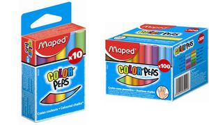 Maped krijt COLOR'PEPS, ronde,  diverse kleuren
