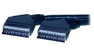 Shiverpeaks BASIC-S Scart-kabel,stekker - stekker, 3,0 m