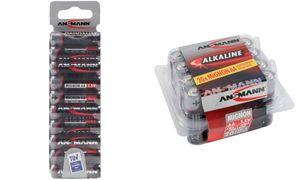 1x20 Ansmann Alkaline Mignon AA LR 6 red-line Box