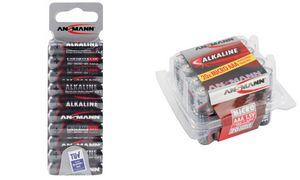1x20 Ansmann Alkaline Micro AAA LR 03 red-line Box