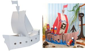 Blancofun Piratenschip          (wit)