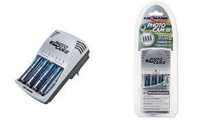 Ansmann batterijlader Photo Cam III voor AA / AAA batterijen