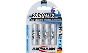 Ansmann AA Oplaadbare Batterijen- 4 stuks - 2700 mAh