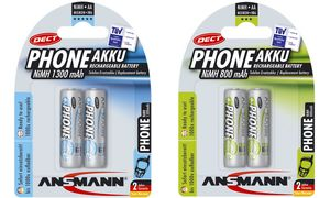 Ansmann AA Oplaadbare Batterijen- 2 stuks - 800 mAh