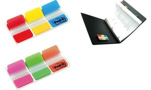 Post-it Index Strong markers,   25,4 x 38 mm, 3-kleuren