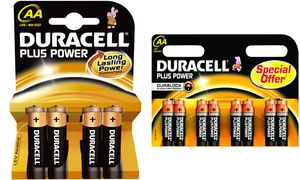 Duracell AA Plus Power          Batterijen - 8 stuks