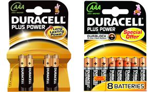 Duracell Plus Power             8xAAA