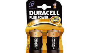 Duracell D Plus Power - 2       stuks