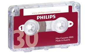 PHILIPS LFH0005 Mini cassette,  30 Minuten