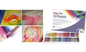 Pentel Arts Olie pastel set ? 50stuks