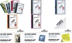 Durable Clip bindmiddel         DURACLIP ORIGINAL 30, A4,