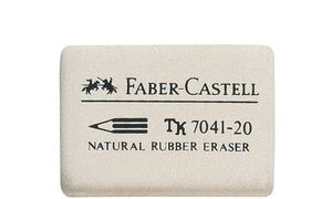 Faber-Castell rubbergom 7041-20,wit