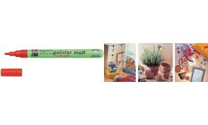 Marabu Acryl Marker'Deco        Schilder mat ', wit