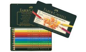Kleurpotlood Faber Castell      Polychromos etui à 12 stuks