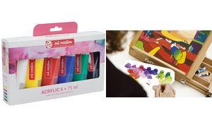 Talens acrylverf ArtCreation    Essentials set van 6 tubes in