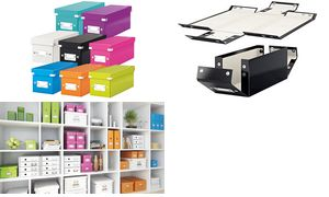 Leitz Click & Store CD-box,     wit