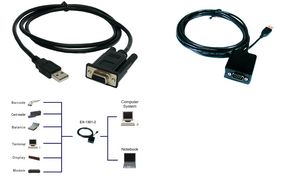 EXSYS USB A - RS232 adapterkabelFTDI chipset, 1,8 m kabel