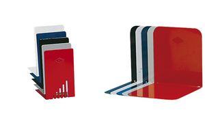 WEDO boekensteun, (B) x 140 (D) x 140 (H) 85 mm, zwart