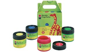 Marabu Finger Paint, set van 4