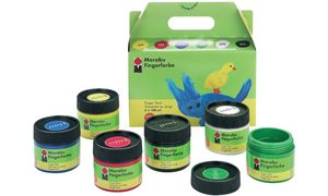 Marabu Finger Paint, set van 6