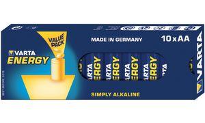 VARTA alkaline battery'Energy ',Mignon (AA / LR6)