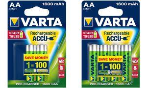 Varta AA Oplaadbare Batterijen -4 stuks - 2100 mAh