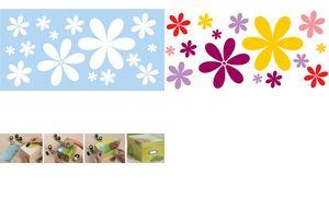 Marabu ontwerp template'Flower  Power ', 150 x 330 mm