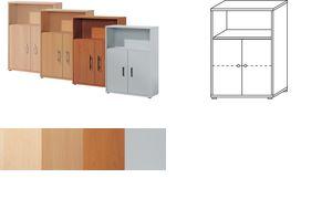 Wellemöbel Stellingen           cabinet'BÜRO COMBI + 2 ', 2