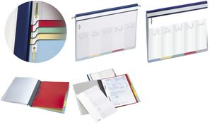 Durable organisatie dossier     DIVISOFLEX, A4, blauw
