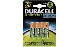 Duracell AA Oplaadbare          Batterijen - 4 stuks - 1300 mAh