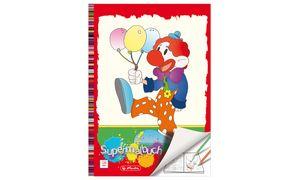 Herlitz Super kleurboek A4, 128 pagina's