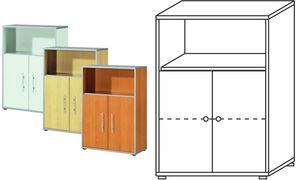 Wellemöbel Stellingen           cabinet'TOOL ', 2 verdiepingen,