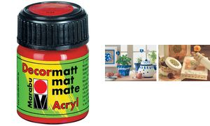 Marabu Acryl paint'Decormatt ', lavendel, 15 ml, in glas