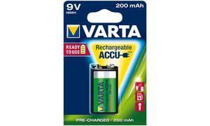 Varta 9V Oplaadbare Batterij - 1stuk