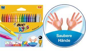 BIC KIDS kleurpotlood           Plastidécor, 18er kartonnen doos